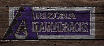 Arizona Diamondbacks Poster by Joe Hamilton