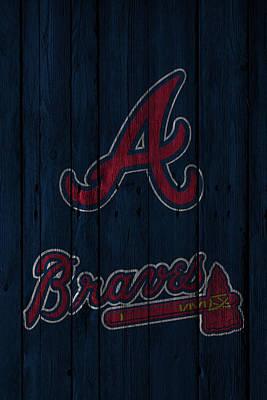 Atlanta Braves Poster by Joe Hamilton