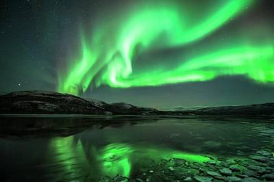Aurora Borealis Poster by Tommy Eliassen