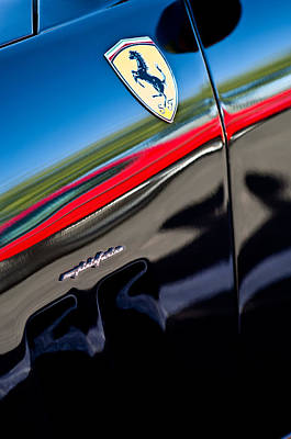 2000 Ferrari 550 Marennel Emblem Poster by Jill Reger