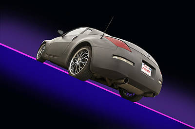 2008 Nissan Z350 'drifter' Poster by Dave Koontz