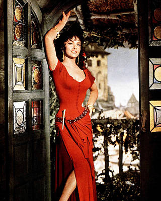 Gina Lollobrigida Poster by Silver Screen