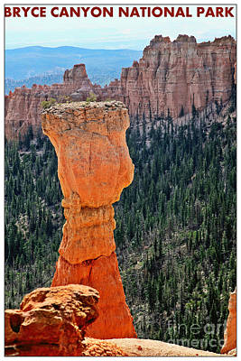 Bryce Canyon  Poster by Sophie Vigneault