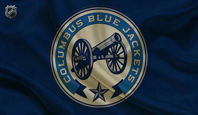 Columbus Blue Jackets Poster by Joe Hamilton