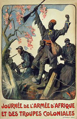 World War I French Poster Poster by Granger
