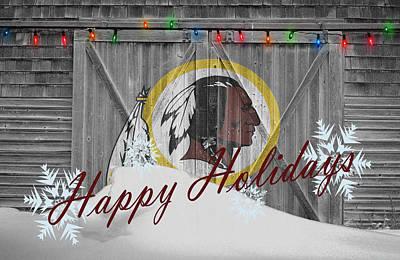 Washington Redskins Poster by Joe Hamilton