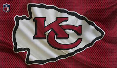 Kansas City Chiefs Poster by Joe Hamilton