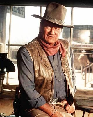 John Wayne Poster by Silver Screen