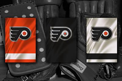 Philadelphia Flyers Poster by Joe Hamilton
