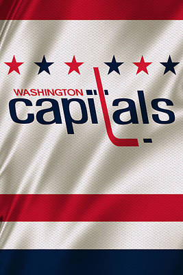 Washington Capitals Poster by Joe Hamilton