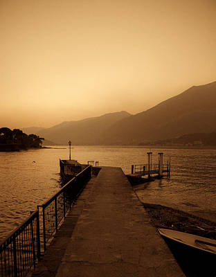 Lago Di Como Poster by Roberto Adrian