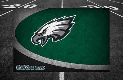 Philadelphia Eagles Poster by Joe Hamilton