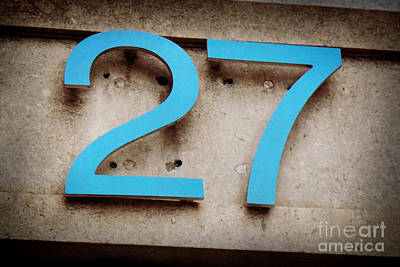 27 Turquoise Poster by Valerie Reeves