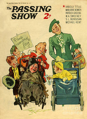 1930s Uk The Passing Show Magazine Cover Poster by The Advertising Archives