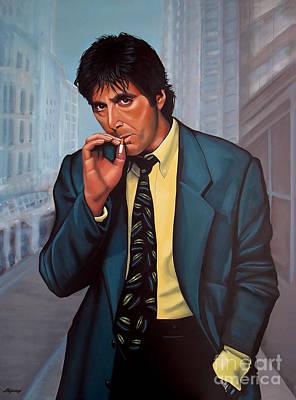 Al Pacino  Poster by Paul Meijering