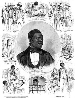 Anthony Burns (1834-1862 Poster by Granger