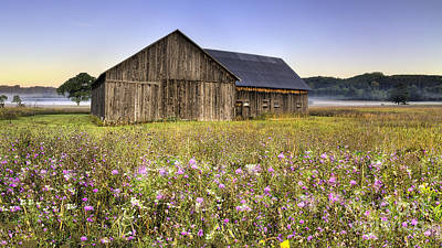 Barn In Sleeping Bear Dunes Poster by Twenty Two North Photography