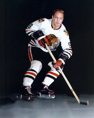 Bobby Hull Poster by Retro Images Archive