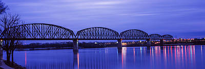 Bridge Across A River, Big Four Bridge Poster by Panoramic Images