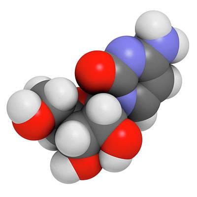 Cytidine Molecule Poster by Molekuul