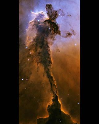 Eagle Nebula Poster by Nasa