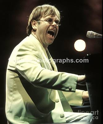 Elton John Poster by Front Row  Photographs