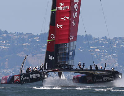 Emirates Team New Zealand Poster by Steven Lapkin