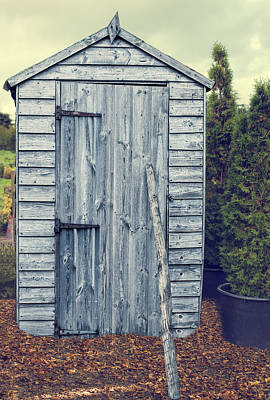 Garden Shed Poster by Amanda And Christopher Elwell