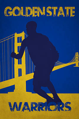 Golden State Warriors Poster by Joe Hamilton