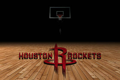 Houston Rockets Poster by Joe Hamilton