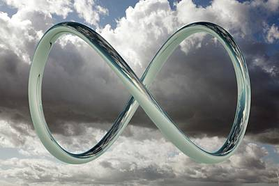 Infinity Loop Poster by Tim Vernon