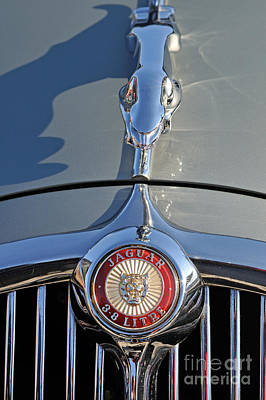 1966 Jaguar 3.8 S-type Poster by George Atsametakis