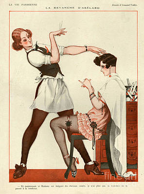 La Vie Parisienne 1925 1920s France Cc Poster by The Advertising Archives
