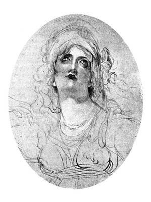 Lady Emma Hamilton (1765-1815) Poster by Granger