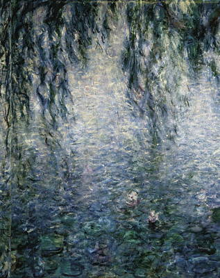 Monet, Claude 1840-1926. Waterlilies Poster by Everett