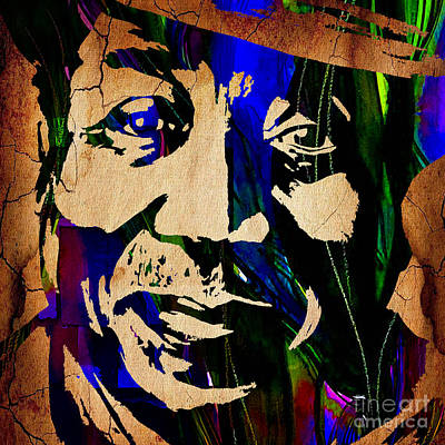 Chicago Poster featuring the mixed media Muddy Waters Collection by Marvin Blaine