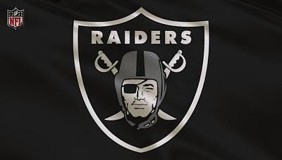 Oakland Raiders Uniform Poster by Joe Hamilton