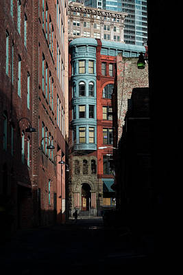 Pioneer Square Alleyway Poster by David Patterson