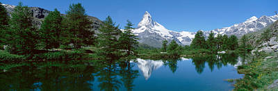 Reflection Of A Mountain In A Lake Poster by Panoramic Images