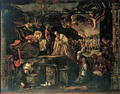 Robusti Jacopo Known As Tintoretto, The Poster by Everett