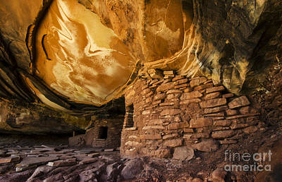 Ancient Spaces Utah Poster by Bob Christopher