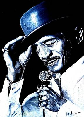 Sammy Davis Jr Poster by Jim Fitzpatrick