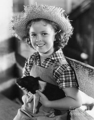 Shirley Temple Poster by MMG Archive Prints