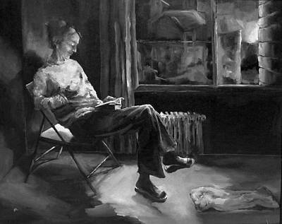 Solitude Poster by Diane Kraudelt