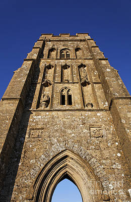 St Michaels Tower Glastonbury Tor Poster by Robert Preston