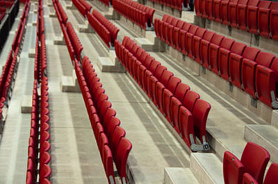 Stadium Seats Poster by Frank Gaertner