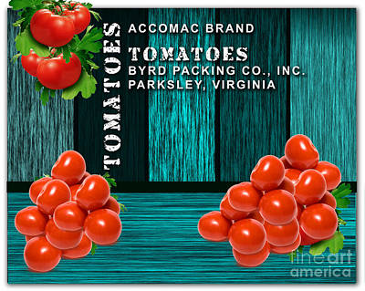 Tomato Farm Poster by Marvin Blaine