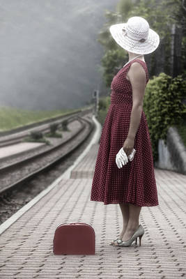 Waiting Poster by Joana Kruse