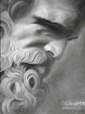 Zeus Poster by Adrian Pickett