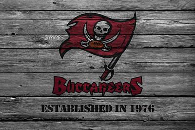 Tampa Bay Buccaneers Poster by Joe Hamilton